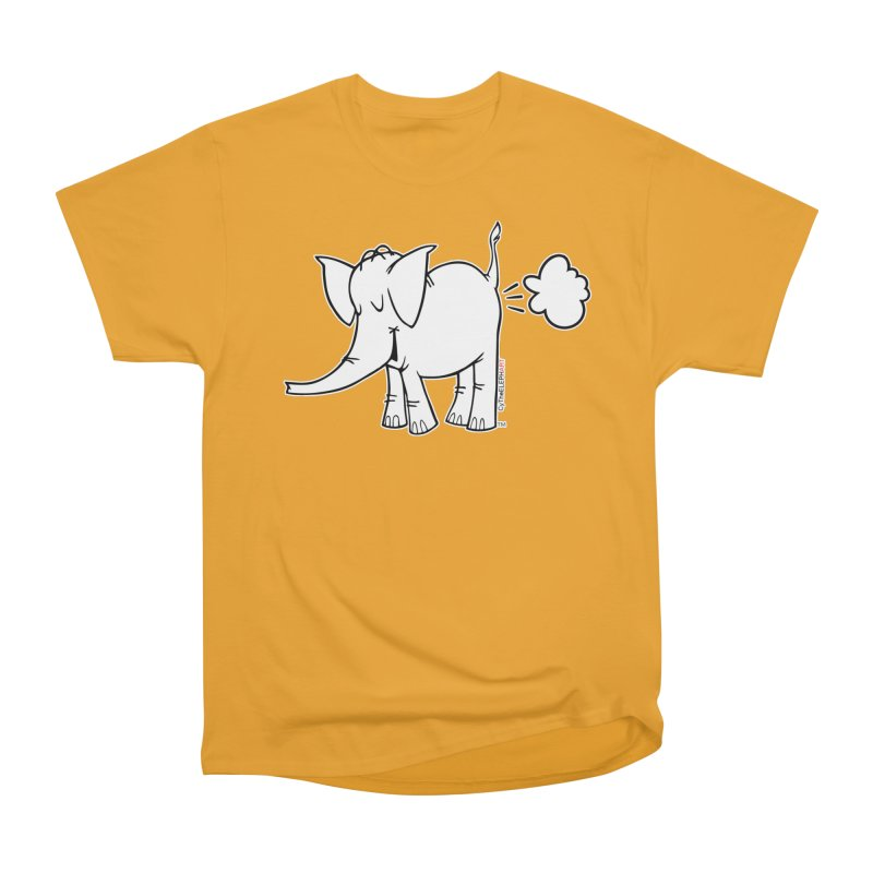 Cy The ElephArt Women's Heavyweight Unisex T-Shirt by Cy The Elephart's phArtist Shop