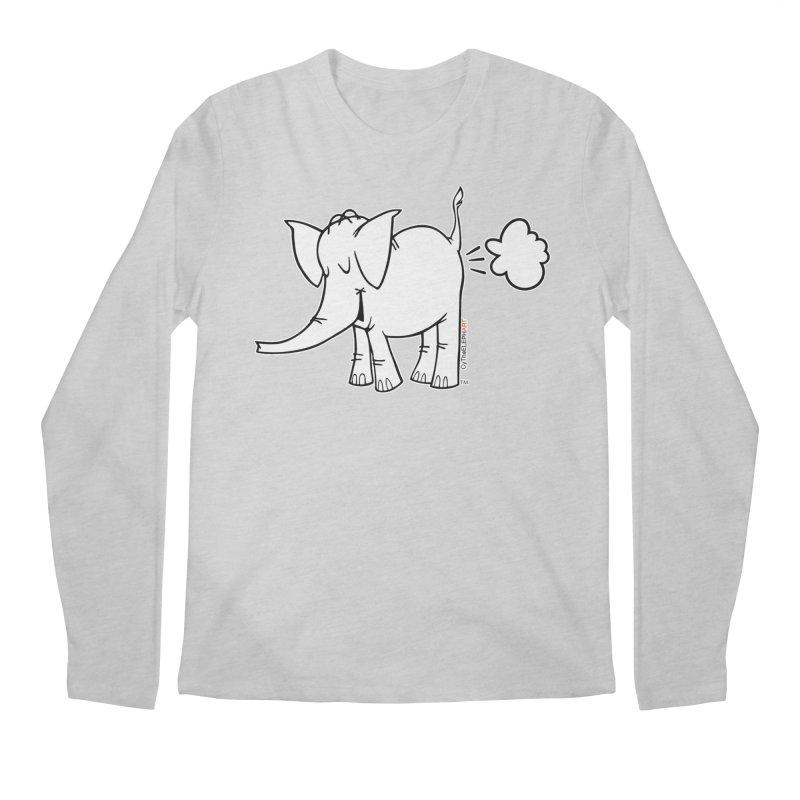 Cy The ElephArt Men's Regular Longsleeve T-Shirt by Cy The Elephart's phArtist Shop