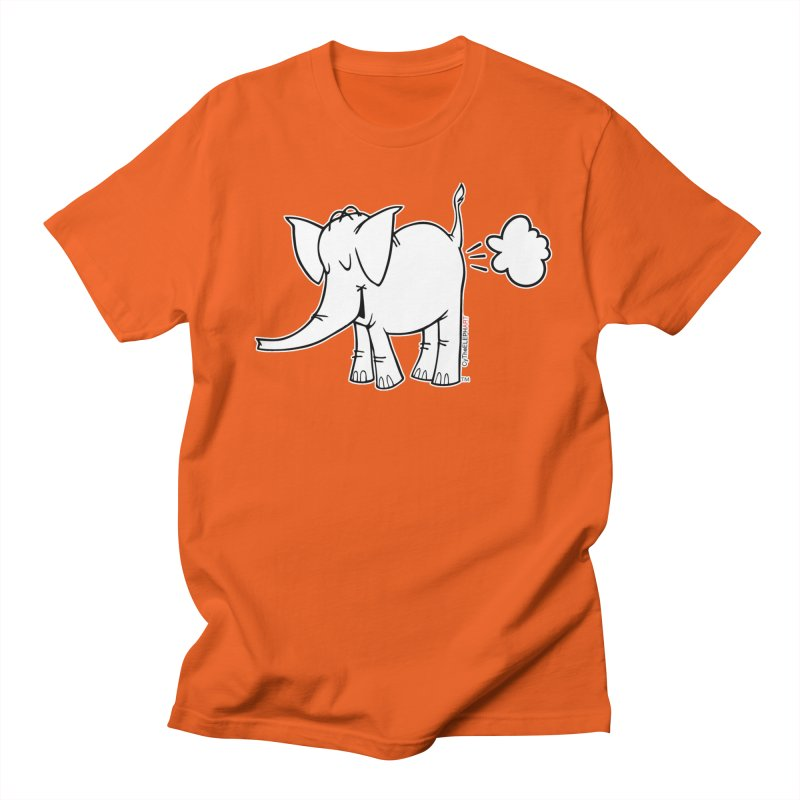 Cy The ElephArt Men's Regular T-Shirt by Cy The Elephart's phArtist Shop