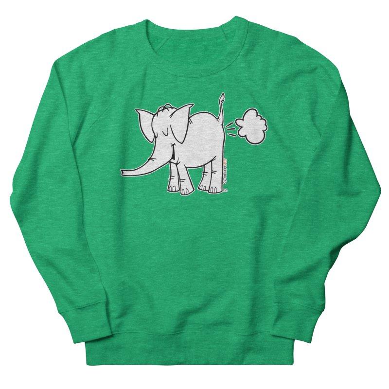 Cy The ElephArt Women's French Terry Sweatshirt by Cy The Elephart's phArtist Shop