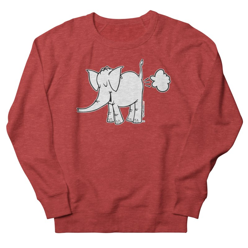 Cy The ElephArt Women's French Terry Sweatshirt by Cy The Elephart's phArtist Shop