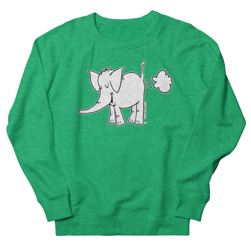 Cy The ElephArt Men's French Terry Sweatshirt by Cy The Elephart's phArtist Shop