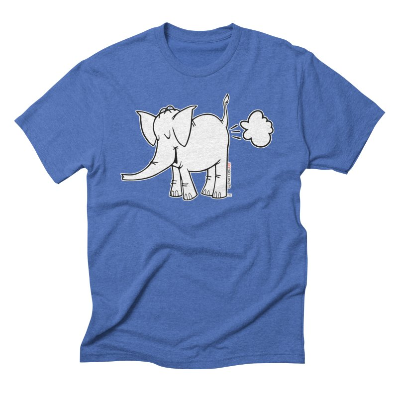 Cy The ElephArt Men's Triblend T-Shirt by Cy The Elephart's phArtist Shop
