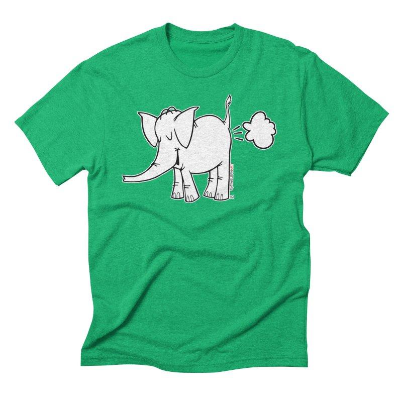 Cy The ElephArt Men's Triblend T-Shirt by Cy The Elephart's phArtist Shop