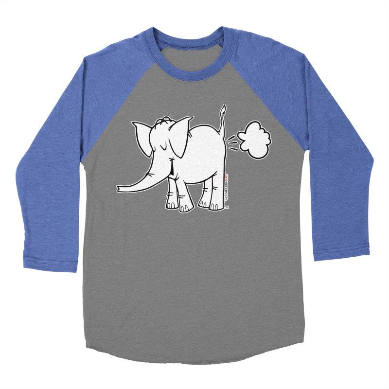 Cy The ElephArt Men's Baseball Triblend Longsleeve T-Shirt by Cy The Elephart's phArtist Shop