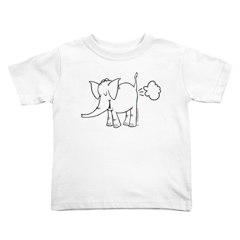 Cy The ElephArt Kids Toddler T-Shirt by Cy The Elephart's phArtist Shop