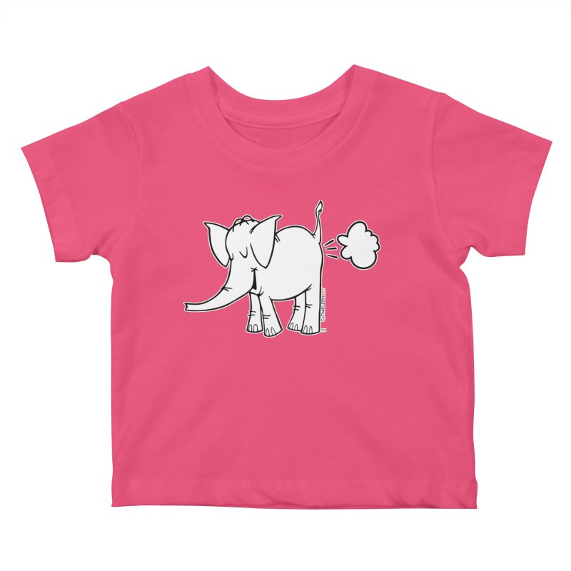 Cy The ElephArt Kids Baby T-Shirt by Cy The Elephart's phArtist Shop