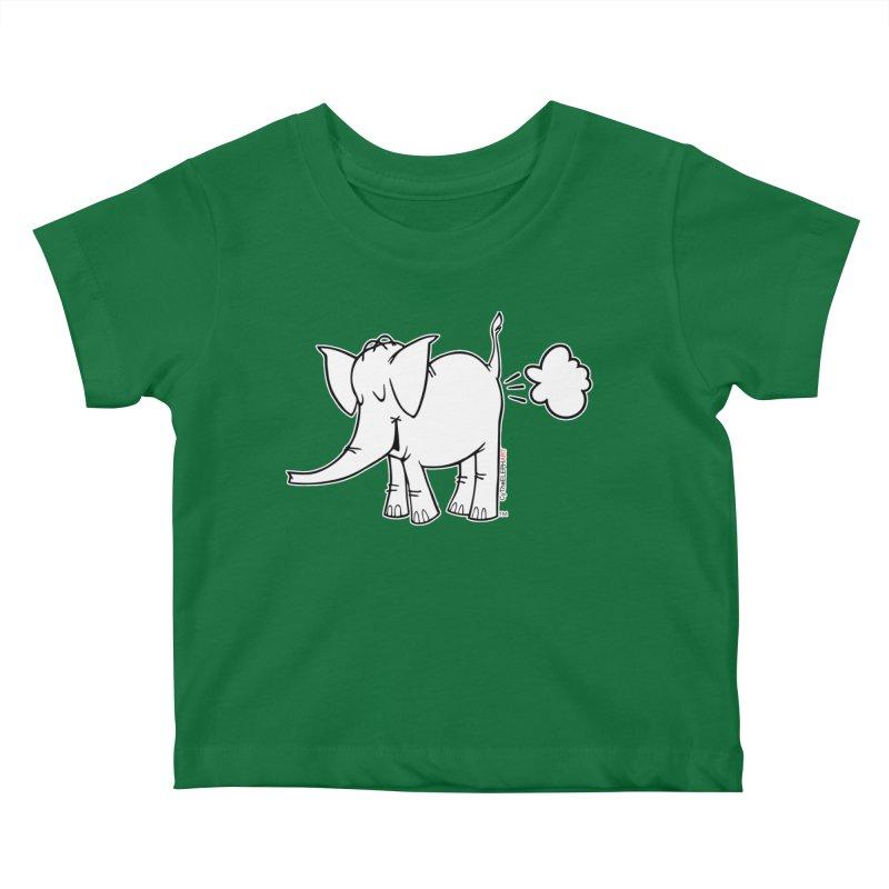 Cy The ElephArt Kids Baby T-Shirt by Cy The Elephart's phArtist Shop