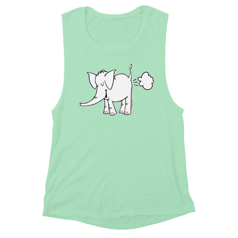 Cy The ElephArt Women's Tank by Cy The Elephart's phArtist Shop