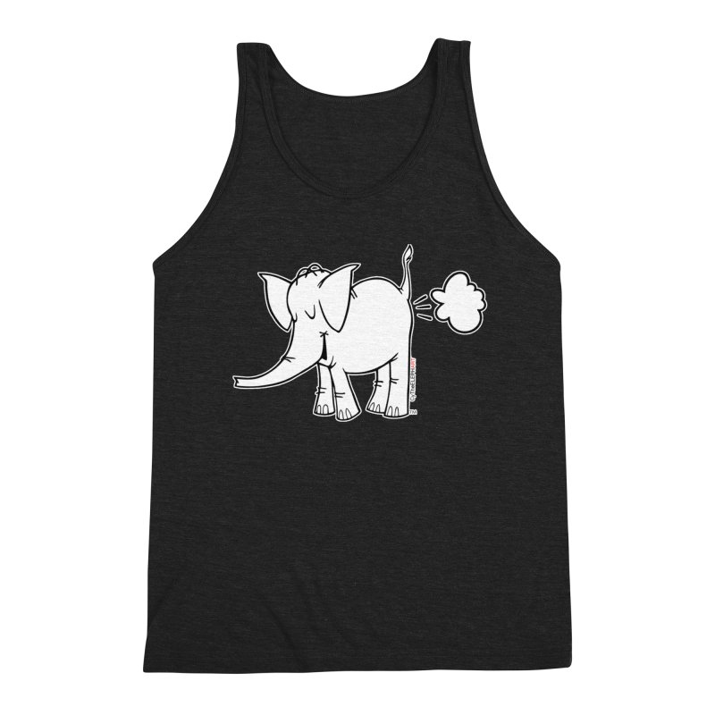 Cy The ElephArt Men's Triblend Tank by Cy The Elephart's phArtist Shop