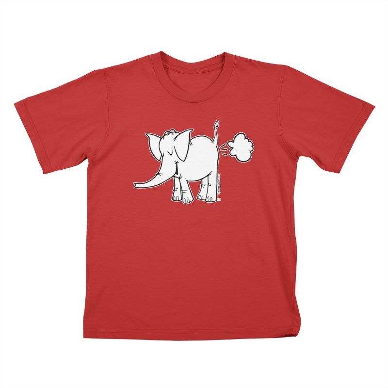 Cy The ElephArt Kids T-Shirt by Cy The Elephart's phArtist Shop