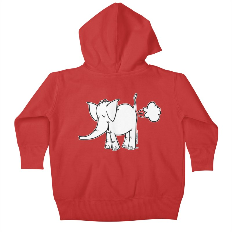 Cy The ElephArt Kids Baby Zip-Up Hoody by Cy The Elephart's phArtist Shop