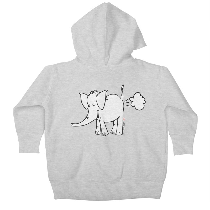 Cy The ElephArt Kids Baby Zip-Up Hoody by Cy The Elephart's phArtist Shop