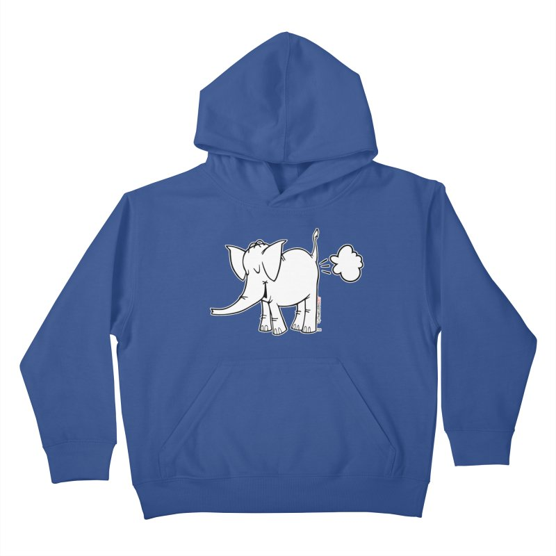 Cy The ElephArt Kids Pullover Hoody by Cy The Elephart's phArtist Shop