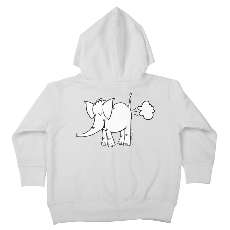 Cy The ElephArt Kids Toddler Zip-Up Hoody by Cy The Elephart's phArtist Shop