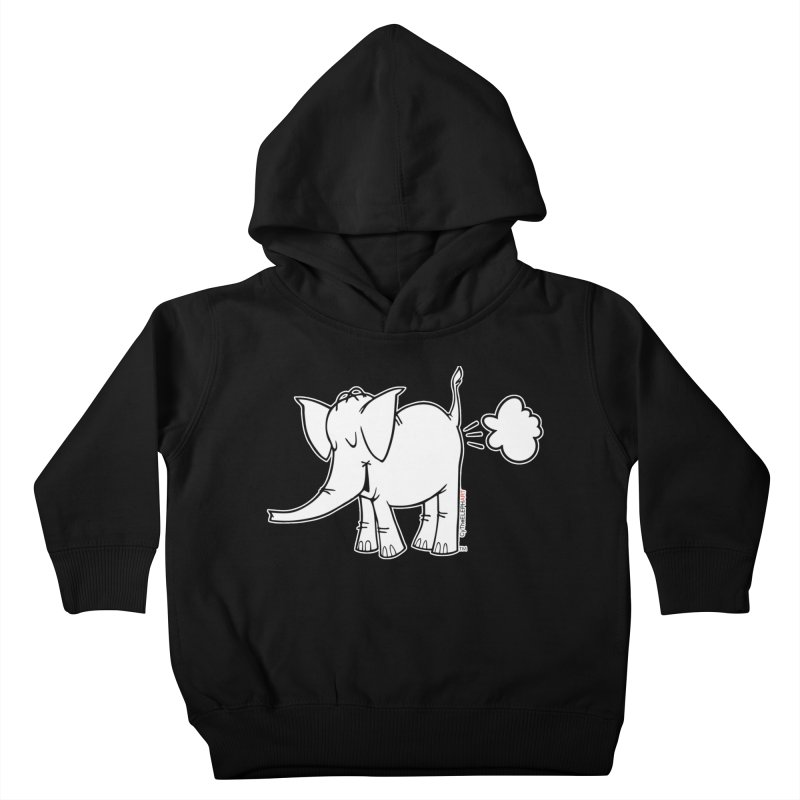 Cy The ElephArt Kids Toddler Pullover Hoody by Cy The Elephart's phArtist Shop