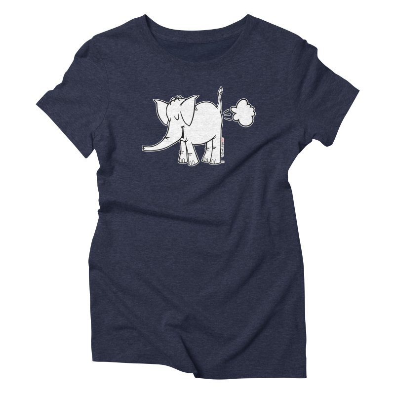 Cy The ElephArt Women's Triblend T-Shirt by Cy The Elephart's phArtist Shop