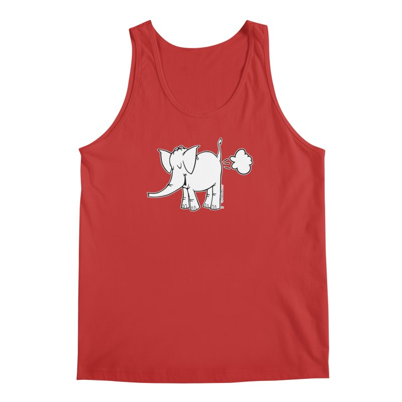 Cy The ElephArt Men's Regular Tank by Cy The Elephart's phArtist Shop