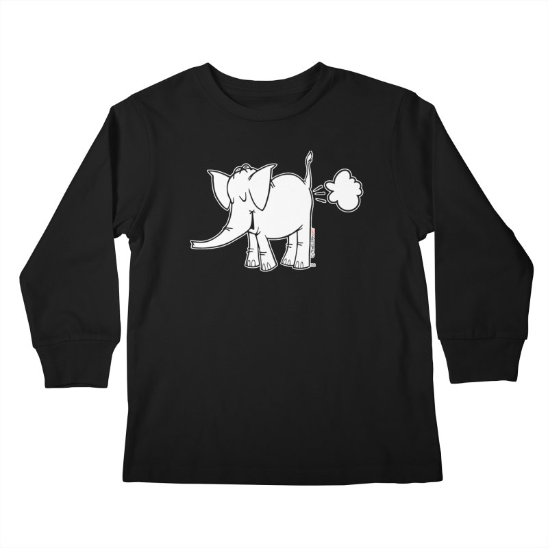 Cy The ElephArt Kids Longsleeve T-Shirt by Cy The Elephart's phArtist Shop