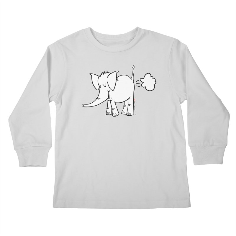 Cy The ElephArt Kids Longsleeve T-Shirt by Cy The Elephart's phArtist Shop