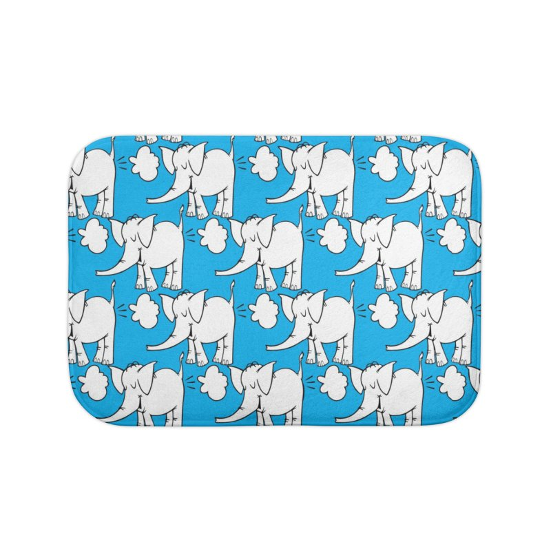 The Cy The ElephArt 'Dutch Oven' Series Home Bath Mat by Cy The Elephart's phArtist Shop