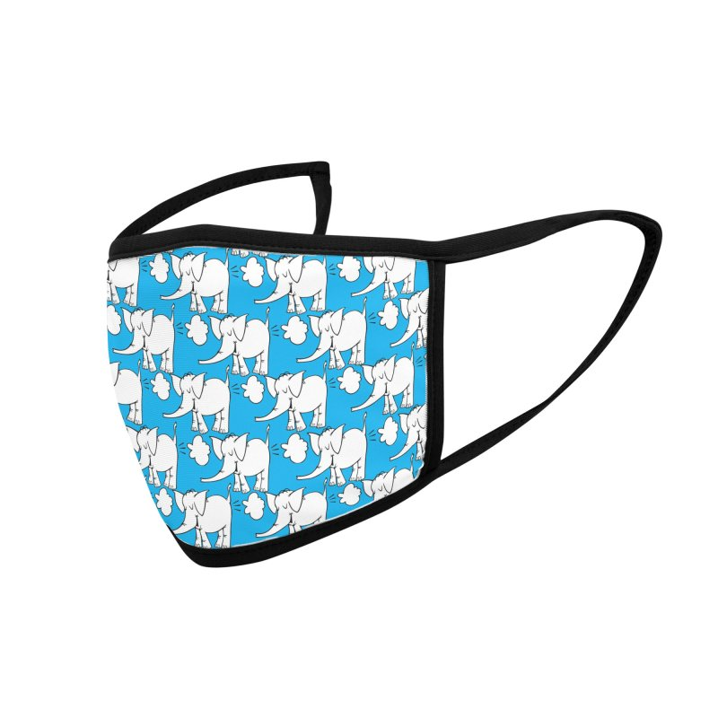 The Cy The ElephArt 'Dutch Oven' Series Accessories Face Mask by Cy The Elephart's phArtist Shop
