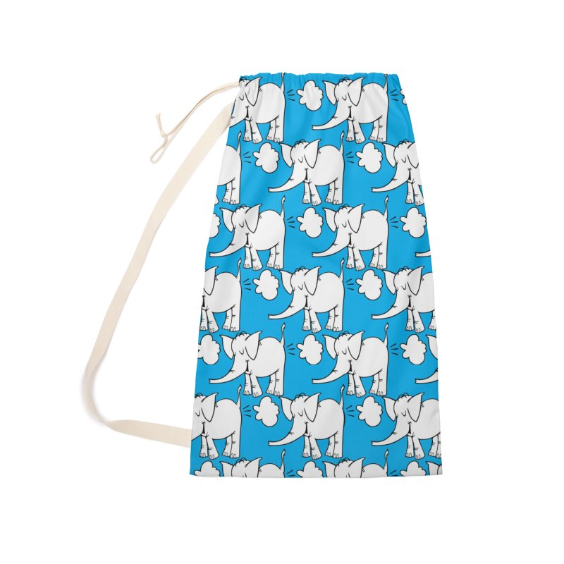 The Cy The ElephArt 'Dutch Oven' Series Accessories Laundry Bag Bag by Cy The Elephart's phArtist Shop