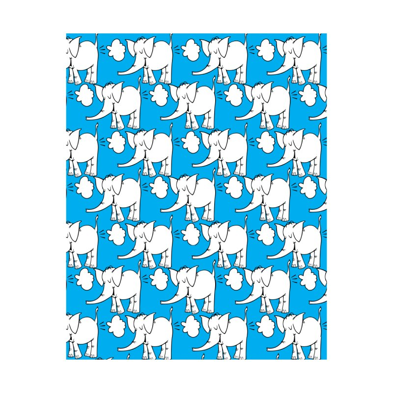 The Cy The ElephArt 'Dutch Oven' Series Home Blanket by Cy The Elephart's phArtist Shop