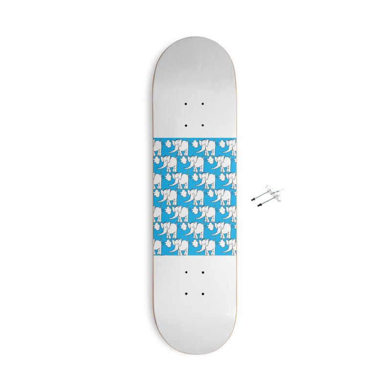 The Cy The ElephArt 'Dutch Oven' Series Accessories With Hanging Hardware Skateboard by Cy The Elephart's phArtist Shop