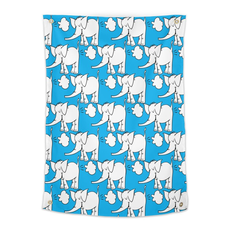 The Cy The ElephArt 'Dutch Oven' Series Home Tapestry by Cy The Elephart's phArtist Shop