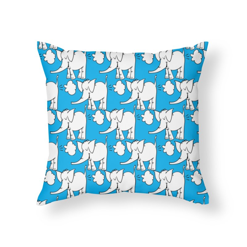 The Cy The ElephArt 'Dutch Oven' Series Home Throw Pillow by Cy The Elephart's phArtist Shop