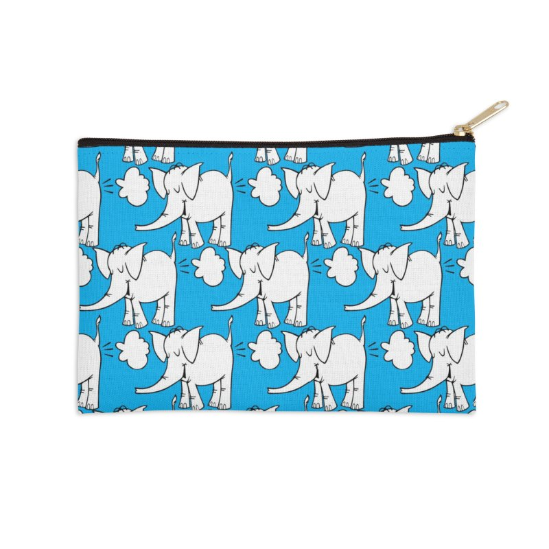The Cy The ElephArt 'Dutch Oven' Series Accessories Zip Pouch by Cy The Elephart's phArtist Shop
