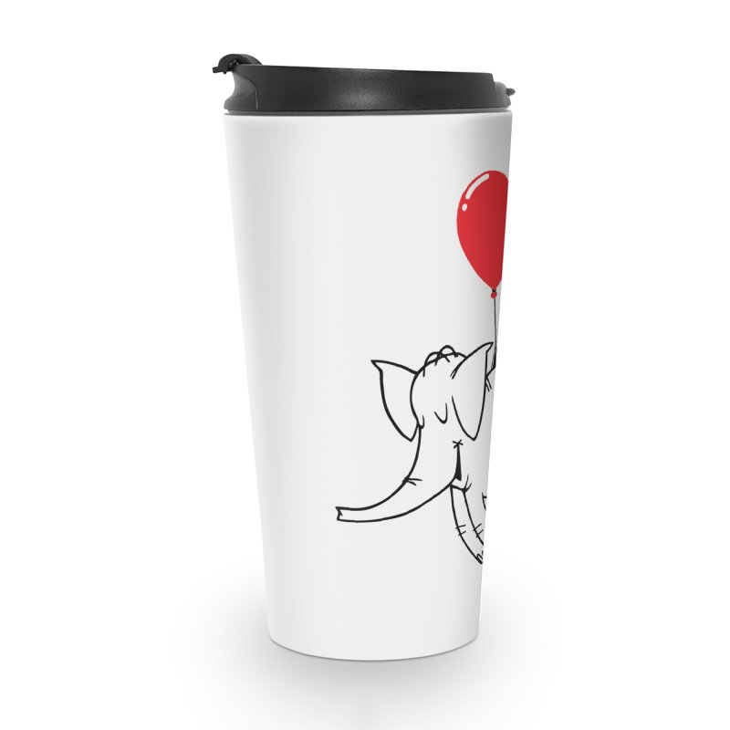 Cy & The Red Balloon Accessories Travel Mug by Cy The Elephart's phArtist Shop
