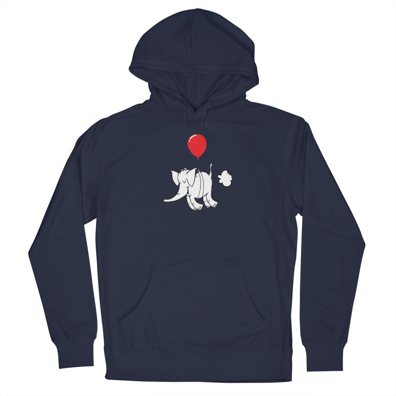 Cy & The Red Balloon Men's Pullover Hoody by Cy The Elephart's phArtist Shop