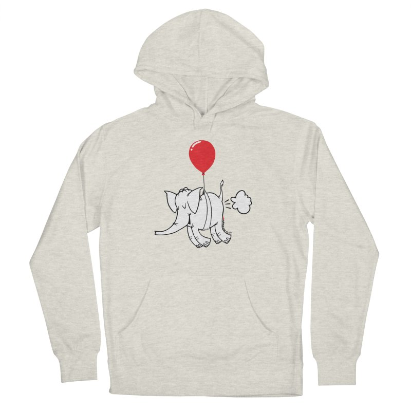 Cy & The Red Balloon Women's Pullover Hoody by Cy The Elephart's phArtist Shop