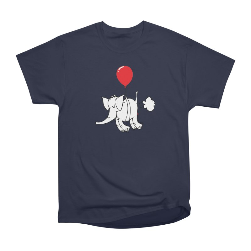 Cy & The Red Balloon Men's T-Shirt by Cy The Elephart's phArtist Shop