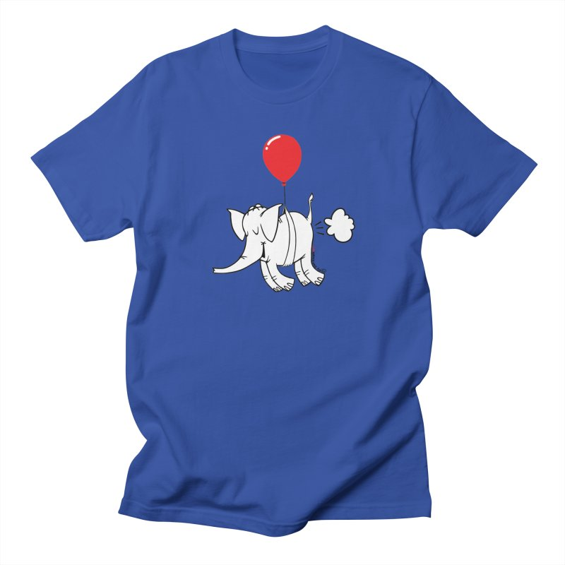 Cy & The Red Balloon Women's Regular Unisex T-Shirt by Cy The Elephart's phArtist Shop