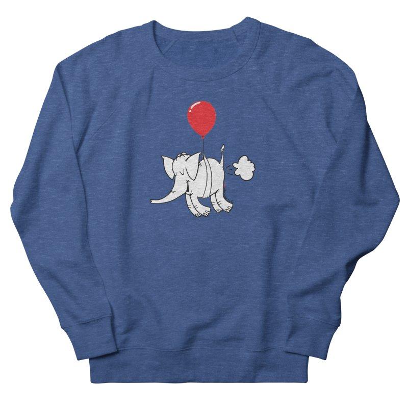 Cy & The Red Balloon Women's Sweatshirt by Cy The Elephart's phArtist Shop