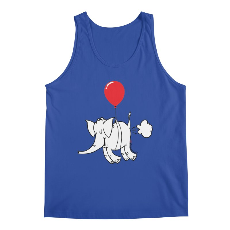 Cy & The Red Balloon Men's Tank by Cy The Elephart's phArtist Shop