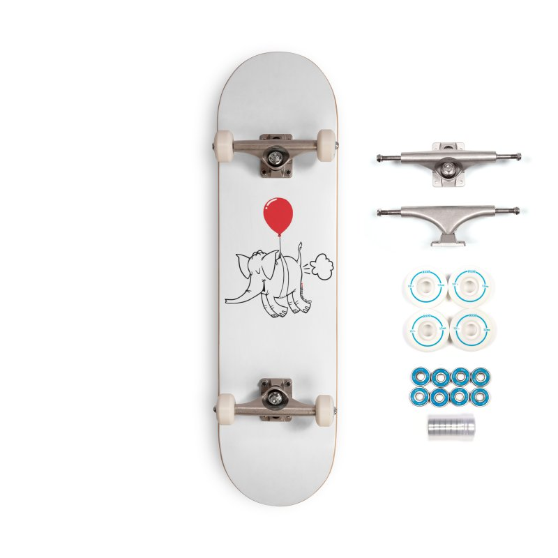 Cy & The Red Balloon Accessories Complete - Basic Skateboard by Cy The Elephart's phArtist Shop