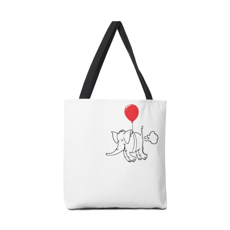 Cy & The Red Balloon Accessories Bag by Cy The Elephart's phArtist Shop