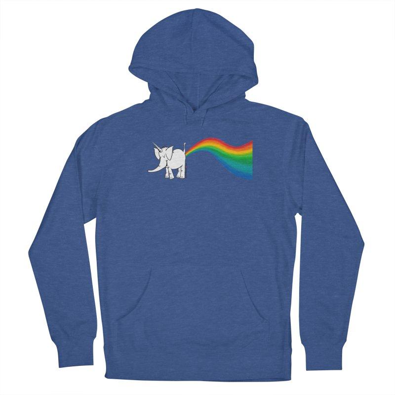 Unicorn Rainbow Lovin' Cy Women's Pullover Hoody by Cy The Elephart's phArtist Shop