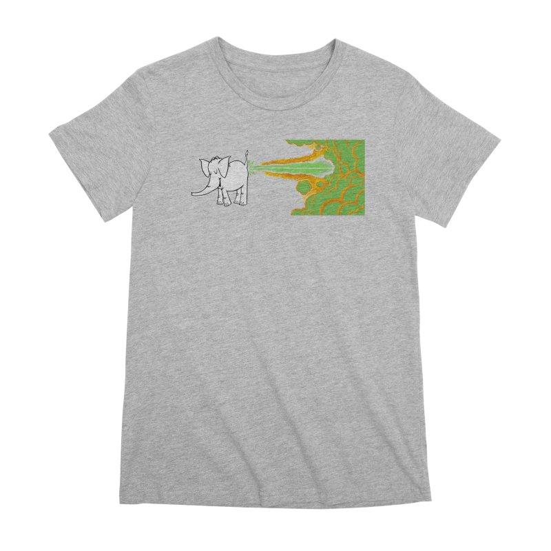 Laser Cy Women's Premium T-Shirt by Cy The Elephart's phArtist Shop