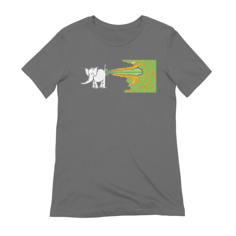 Laser Cy Women's T-Shirt by Cy The Elephart's phArtist Shop