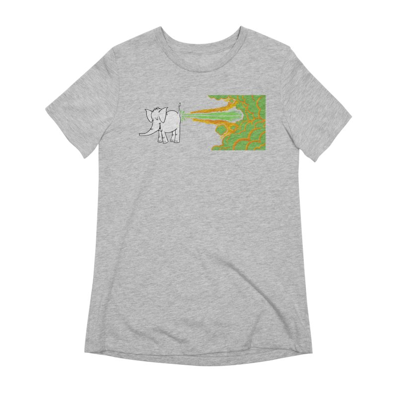 Laser Cy Women's Extra Soft T-Shirt by Cy The Elephart's phArtist Shop