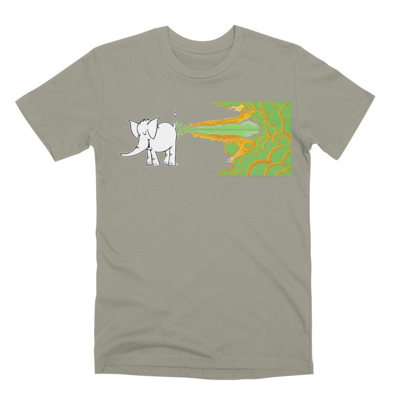 Laser Cy Men's Premium T-Shirt by Cy The Elephart's phArtist Shop