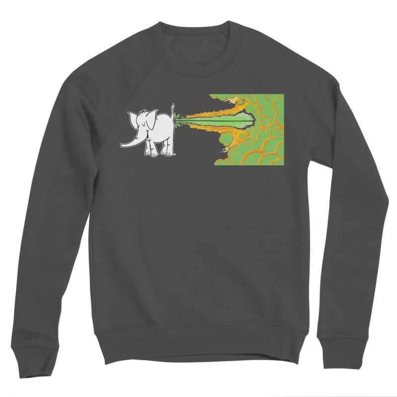 Laser Cy Men's Sponge Fleece Sweatshirt by Cy The Elephart's phArtist Shop
