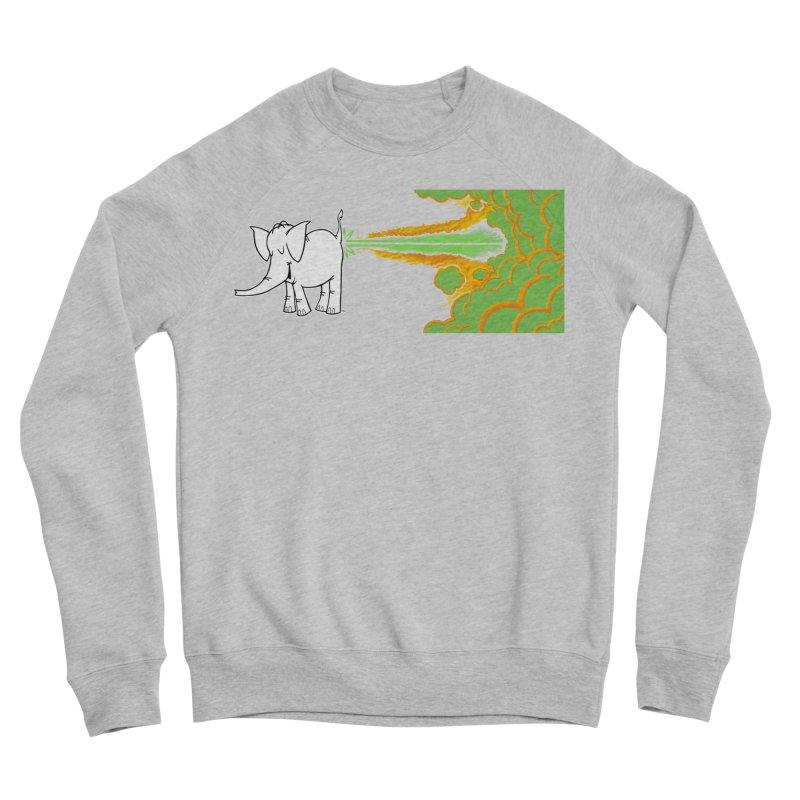 Laser Cy Women's Sponge Fleece Sweatshirt by Cy The Elephart's phArtist Shop