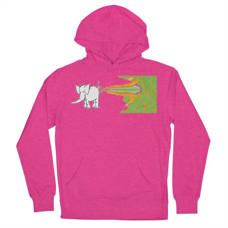 Laser Cy Women's French Terry Pullover Hoody by Cy The Elephart's phArtist Shop