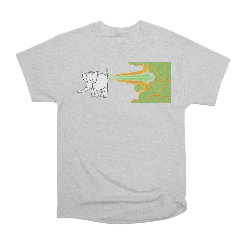 Laser Cy Women's Heavyweight Unisex T-Shirt by Cy The Elephart's phArtist Shop